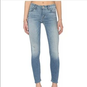 New with tags! Mother the looker skinny jeans 24